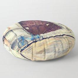 Trapani art 25 Floor Pillow