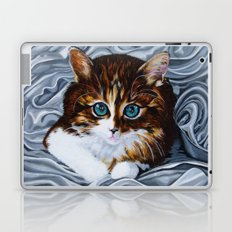 Whiskers the Cat Laptop & iPad Skin