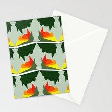 Burning Ships Stationery Cards