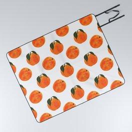 Peach Harvest Picnic Blanket