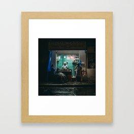 Tripa con queso Framed Art Print