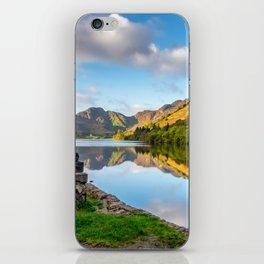 Crafnant Lake Obelisk iPhone Skin