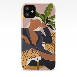 Girl Boss #illustration #painting iPhone Case