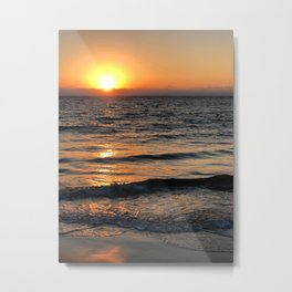 Sunset in the north of Peru - part 1 #eclecticart Metal Print