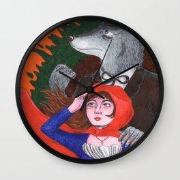Preacher Wolf Wall Clock