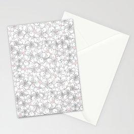 Cherry Blossom Pink Blocks Stationery Cards