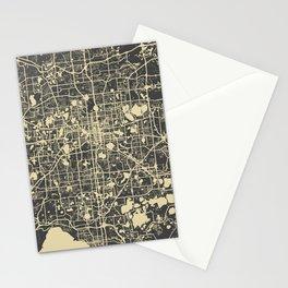 Orlando Map Stationery Cards