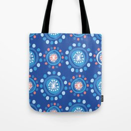 Bubbly Pattern Tote Bag