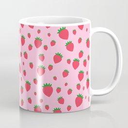Whimsical strawberry pattern Coffee Mug