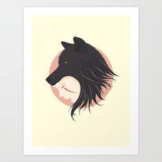 Boy Cries Wolf Art Print