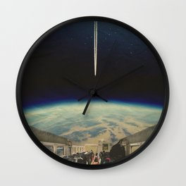 SPACE BUS Wall Clock