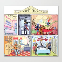 House of Beck Canvas Print