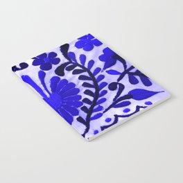Beautiful Midnight Blue Mexican Flower Notebook