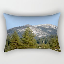 Sunny Winter Day Rectangular Pillow