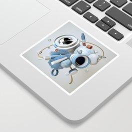 3D Objective Sticker