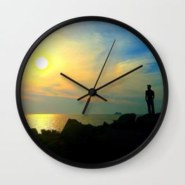 Sunset, Cape May Wall Clock