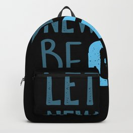 Gin Alcohol New Years Eve Backpack