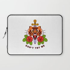 Don't Try Me Laptop Sleeve