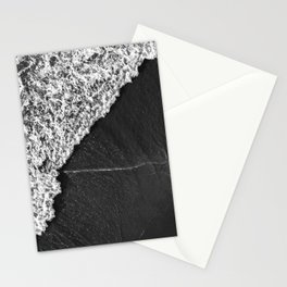 Ocean Waves in Black & White     Drone Photography Stationery Cards