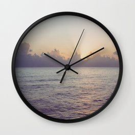 There is a Whale in the Sky Wall Clock