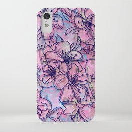 Over and Over Flowers 2 iPhone Case