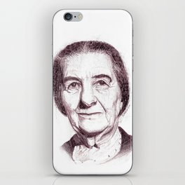 Golda Meir iPhone Skin