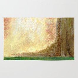 Awakening, Abstract Landscape Rug