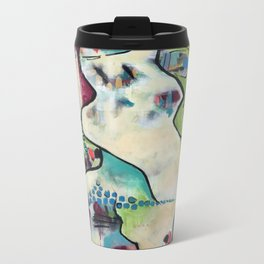 Zebra Medicine:: Individuality |within| Community Metal Travel Mug