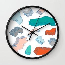 Día normal Wall Clock