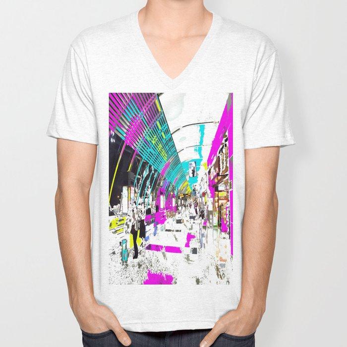 Late Nite Shopping Unisex V-Neck