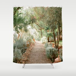 Botanical paradise | Morocco travel photography Shower Curtain