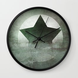 Star Composition IV Wall Clock