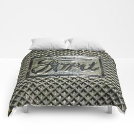 Ford Script Step Plate Comforters