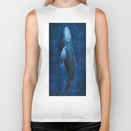 WhaleSong by AutumnSkyeART Biker Tank