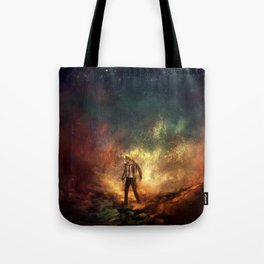 Carrying Hell Tote Bag