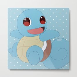 SquirtSquirtle Metal Print