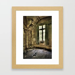 The Lone Shoes… Framed Art Print