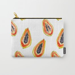 Papaya Paradise Carry-All Pouch