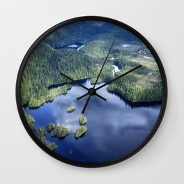 Misty Fiords national monument 2 Wall Clock