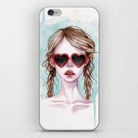 lolita iPhone & iPod Skins featuring Lolita by Black Fury