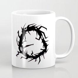 Circle Tree Pen Drawing Coffee Mug