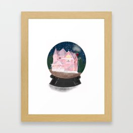 The Pink Palace Framed Art Print
