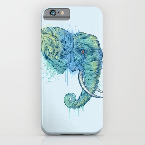 Elephant Portrait iPhone & iPod Case