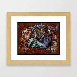 """""""Ice Hand"""" Framed Art Print"""