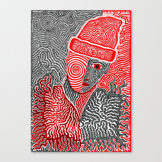 My Name's Blurryface and I Care What You Think Canvas Print