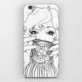 Sweet Rotten Scream iPhone Skin