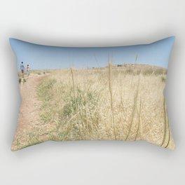Wheat on Mount Tabor Rectangular Pillow