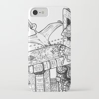 conan iPhone & iPod Cases featuring Worlds within Worlds by KadetKat