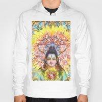 shiva Hoodies featuring Sunflower Shiva by BradButler