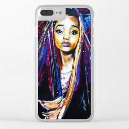 lil goddess Clear iPhone Case